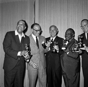 """Disneyland Big Band Festival""Duke Ellington, Benny Goodman, Wayne King, Count Basie, Lloyd Elliott1964 © 1978 Bud Gray - Image 10116_0003"