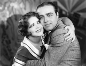 """""""Saturday Night Kid, The"""" Clara Bow, James Hall1928 Paramount **I.V. - Image 10126_0005"""