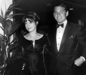 Gene Barry with his wife Betty Claire1966Photo by Joe Shere - Image 10148_0001