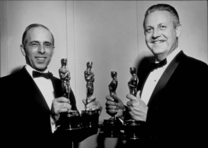 """Academy Awards: 34th Annual,""Jerome Robbins, Robert Wise.1962. - Image 10161_0001"