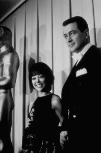 """Academy Awards: 34th Annual,""Rita Moreno and Rock Hudson.1962. © 1978 David Sutton - Image 10161_0002"