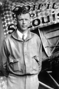 Charles LindbergMay 21, 1927**I.V. - Image 10186_0004