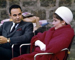 """Charade""Director Stanley Donen, Audrey Hepburn1963 UniversalPhoto by Millard**I.V. - Image 10193_0004"