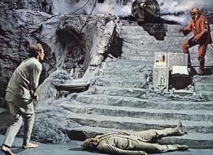 """Beneath the Planet of the Apes"" (Lobby Card)Charlton Heston, Maurice Evans1970 20th Century Fox - Image 10235_0002"