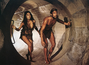 """""""Beneath the Planet of the Apes"""" (Lobby Card)Linda Harrison, James Franciscus1970 20th Century Fox - Image 10235_0003"""