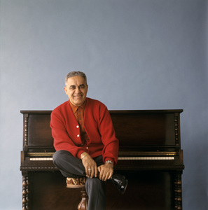 """Frankie Carle during an album cover photo session for """"Frankie Carle Plays the Great Piano Hits""""1963© 1978 Ken Whitmore - Image 10268_0002"""