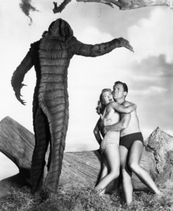 """Revenge of the Creature""Lori Nelson, John Agar1955** I.V. - Image 10270_0004"