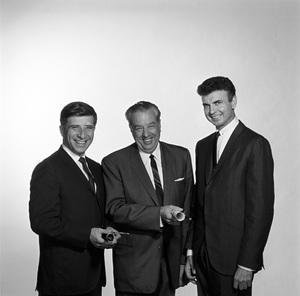Elmer Bernstein and Ray Heindorf1963 © 1978 Gene Howard - Image 10275_0001
