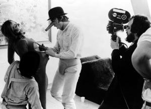 """""""A Clockwork Orange""""Malcolm McDowell, director Stanley Kubrick1971 Warner Brothers** I.V. - Image 10310_0013"""