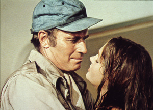 """""""Soylent Green"""" Charlton Heston and Leigh Taylor-Young1973 MGM - Image 10334_0001"""