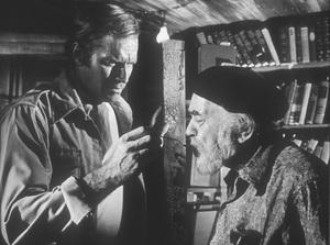 """Soylent Green""Charlton Heston, Edward G. Robinson © 1973 MGM - Image 10334_0003"