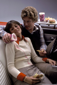"""Food""Date in Car1976 © 1978 Sid Avery - Image 10370_0240"