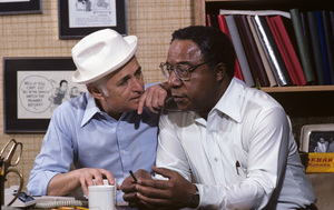 Norman Lear in his office with Alex Haley1979© 1979 Gene Trindl - Image 10393_0005