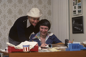 Norman Lear and Virginia Carter1976© 1978 Gene Trindl - Image 10393_0006
