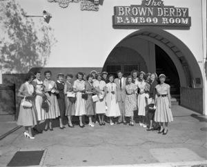 The Brown Derby Pioneer Women1953 © 1978 Sid Avery - Image 10398_0011