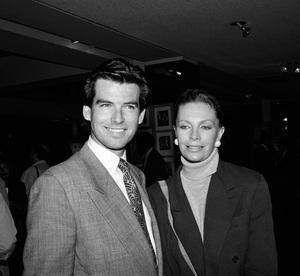 Pierce Brosnan with his wife Cassandra Harris1988 © 1988 Gunther - Image 10412_0002