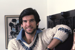 Pierce Brosnan at home1984 © 1984 Gene Trindl - Image 10412_0007