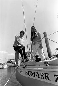 Mark Spitz and wife Suzycirca 1973 © 1978 Gunther - Image 10437_0004