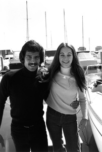 Mark Spitz and wife Suzycirca 1973 © 1978 Gunther - Image 10437_0006