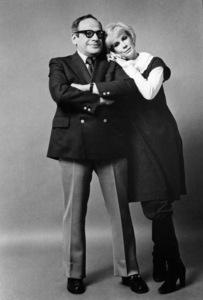 Joan Rivers with her husband, Edgar Rosenberg1984© 1984 Gunther - Image 10522_0040