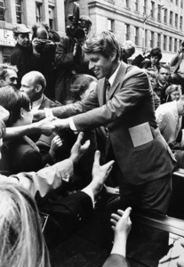Robert F. Kennedy in Seattle, Washington1968 © 1978 Ulvis Alberts - Image 10538_0003