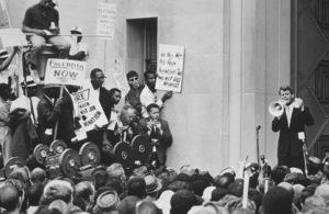 Robert Kennedyaddresses civil rights demonstratorsJune 14, 1963MPTV - Image 10538_0004