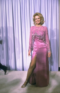 """""""Academy Awards: 53rd Annual,"""" Angie Dickinson. 1981. © 1981 Gunther - Image 10548_0004"""