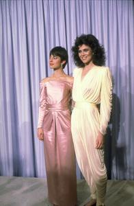 """Academy Awards: 53rd Annual,"" Natassja Kinski, Sigourney Weaver. 1981. © 1981 Gunther - Image 10548_0005"