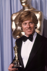 """Academy Awards: 53rd Annual,"" 1981.Robert Redford. © 1981 Gunther - Image 10548_0024"