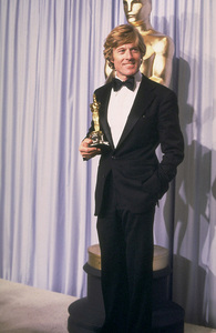 """Academy Awards: 53rd Annual,"" Robert Redford. 1981. © 1981 Gunther - Image 10548_0032"