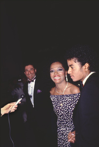 """Academy Awards - 53rd Annual""Diana Ross, Michael Jackson1981 © 1981 Gunther - Image 10548_0054"
