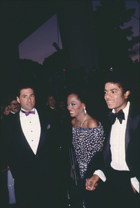 """Academy Awards - 53rd Annual""Diana Ross, Michael Jackson1981 © 1981 Gunther - Image 10548_0055"
