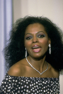 """""""Academy Awards: 53rd Annual,"""" Diana Ross. 1981. © 1981 Gunther - Image 10548_0057"""