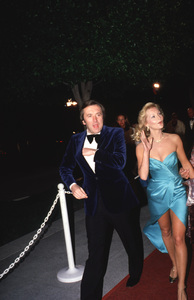 """""""Academy Awards - 53rd Annual""""David Frost and Carol Lynley, 1981. © 1981 Gunther - Image 10548_0073"""