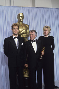 """Academy Awards: 62nd Annual""Tom Hanks, Freddie Francis, Melanie Griffith1990 © 1990 Gunther - Image 10550_0003"
