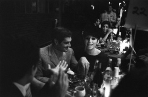 """The Factory Nightclub""Omar Sharif, Barbra Streisand1967 © 1978 Bob Willoughby - Image 10554_0023"