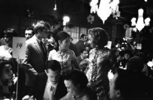 """The Factory Nightclub""Robert (Bobby) F. Kennedy, Ethel Kennedy1967 © 1978 Bob Willoughby - Image 10554_0025"