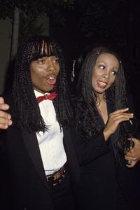 Donna Summer and Rick Jamescirca 1980s© 1980 Gary Lewis - Image 10557_0052