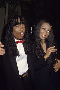 Donna Summer and Rick Jamescirca 1980s© 1980 Gary Lewis - Image 10557_0052