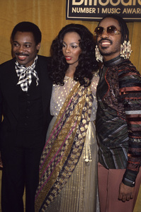 Donna Summer with George Benson and Stevie Wonder1980© 1980 Gary Lewis - Image 10557_0054