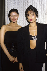 Bianca Jagger and Charlotte Lewiscirca 1980s © 1980 Gary Lewis - Image 10561_0005