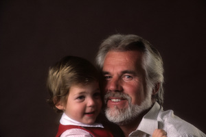Kenny Rogers with his son, Christopher Cody Rogers1984© 1984 Mario Casilli - Image 10575_0056