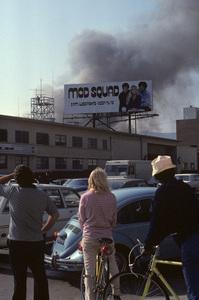 Samuel Goldwyn Studios fireMay 6, 1974© 1978 Sid Avery - Image 10589_0008