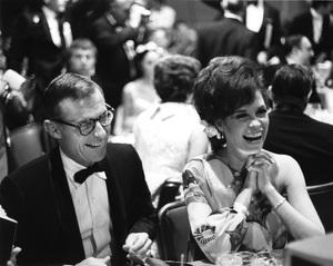 """The Golden Globe Awards"" Grant Tinker, Mary Tyler Moore 1968 © 1978 Gunther - Image 10636_0022"