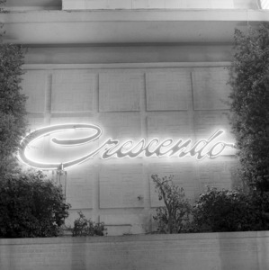 Restaurants (The Crescendo)circa 1953© 1978 Bernie Abramson - Image 10641_0001