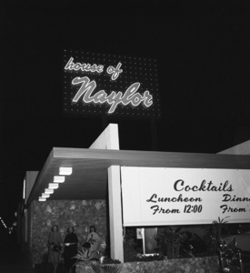 Restaurants (House of Naylor, Los Angeles)circa 1950s© 1978 David Sutton - Image 10641_0023