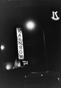 Rainbow Bar & Grill restaurant in Los Angeles1982© 1982 Gunther - Image 10641_0028