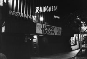 Raincheck Room restaurant in Los Angeles1982© 1982 Gunther - Image 10641_0030