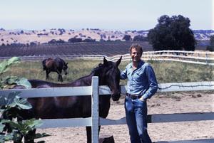 Wayne Rogers at home1974© 1978 Gene Trindl - Image 10652_0006