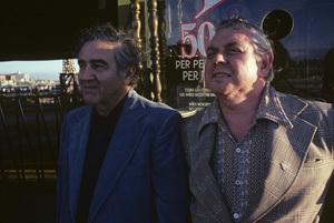 Jerry Siegel and Joe Shuster (creators of Superman character for the original comics) 1979 © 1979 Ulvis Alberts - Image 10674_0001